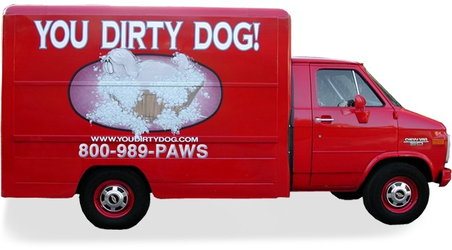 Mobile Dog groomers and cat groomers, we come to you to groom your dog or cat