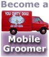 become a mobile dog groomer and cat groomer